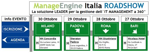 ManageEngine Italia ROADSHOW