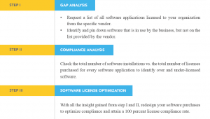 Software asset utilization rate