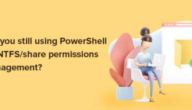 NTFS permissions.