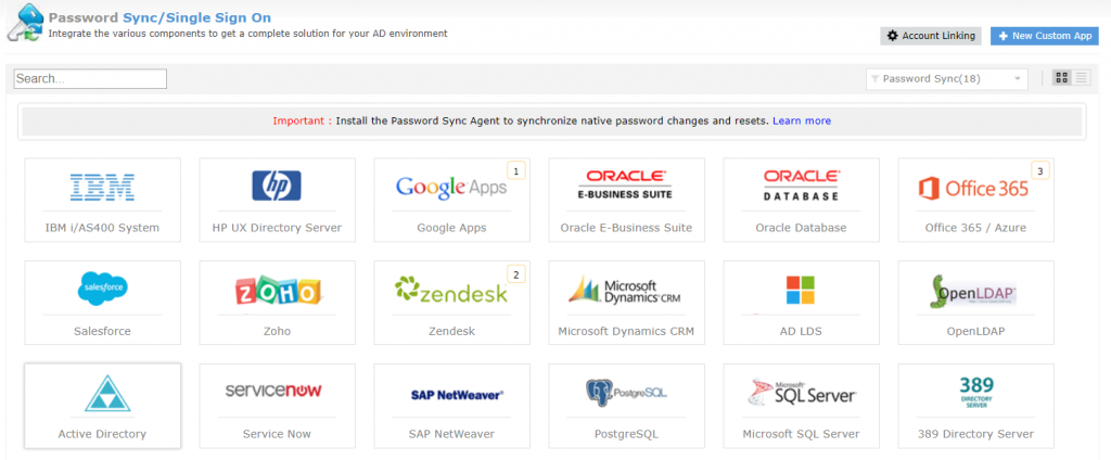 Password Sync.