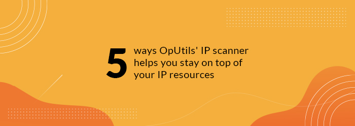 IP Scanner.